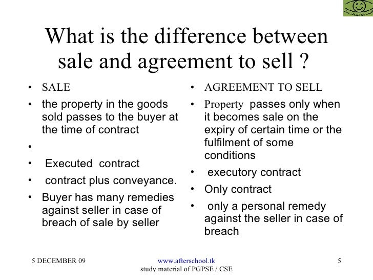 Sale Of Goods Act And Provisions For Entrepreneurs