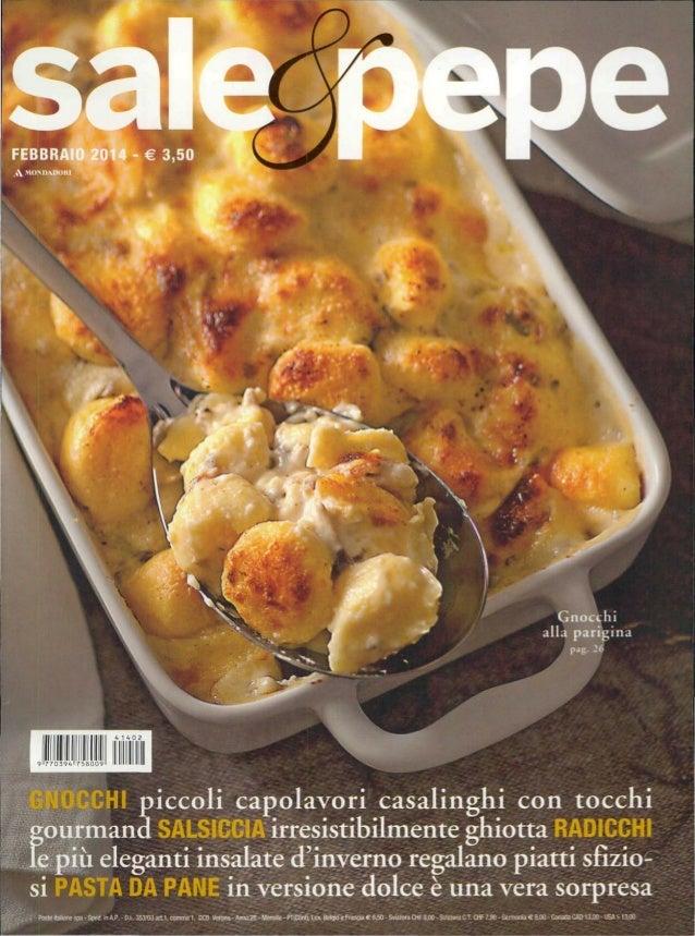 ;ourmand SALSICCIAirresistibilmente ghiotta RADICCHI e più eleganti insalate d'inverno regalano piatti sfizio- si PASTADAP...