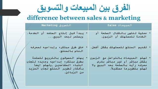 المبيعات - Sales Slide 3
