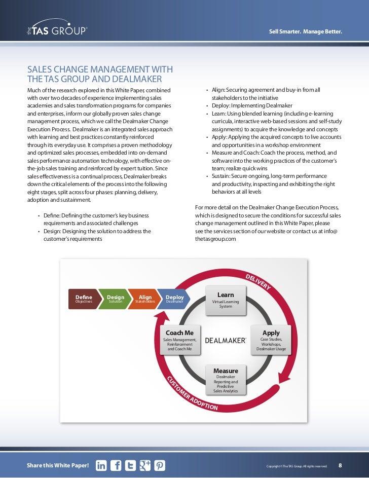 Sales management paper