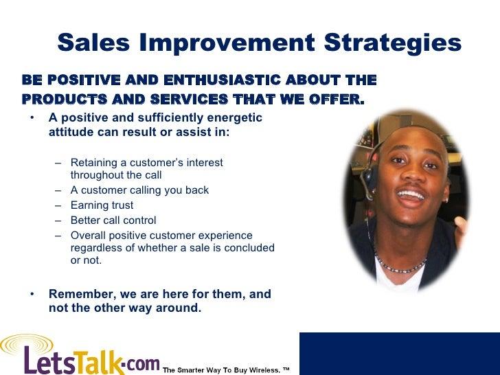 Sales Improvement Strategies Slide 2
