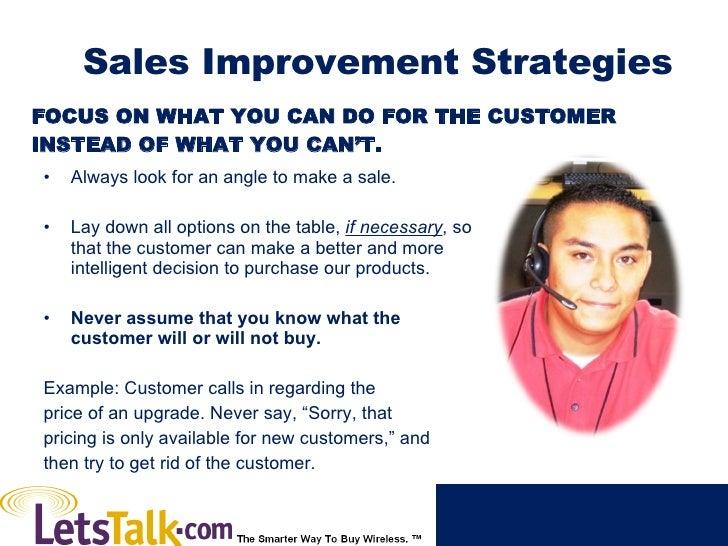 Sales Improvement Strategies Slide 3