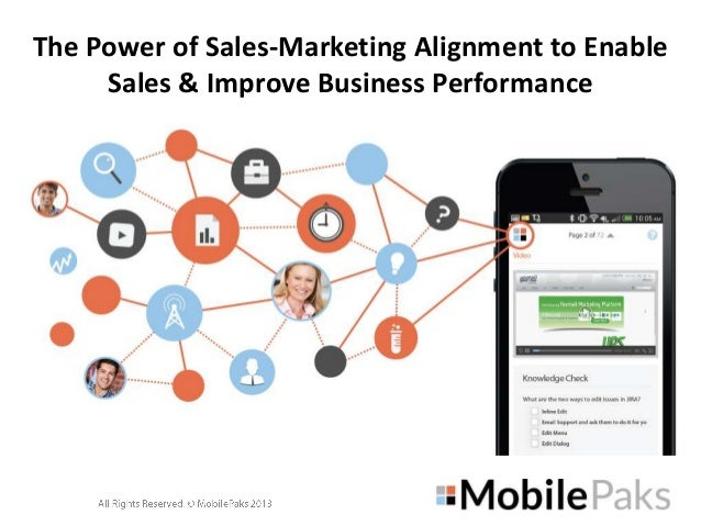 The Power of Sales-Marketing Alignment to Enable Sales & Improve Business Performance