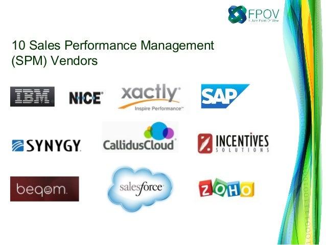 10 Sales Performance Management (SPM) Vendors