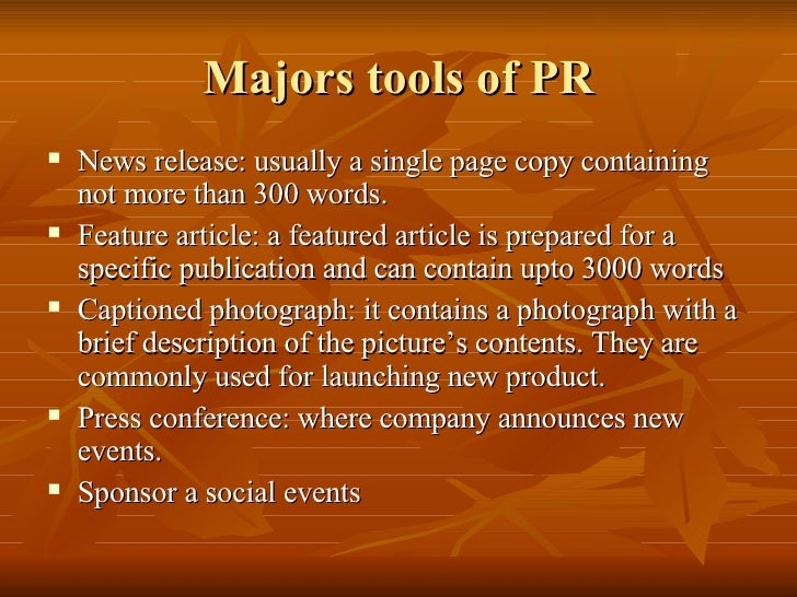 pr is more than a promotion I think this is an interesting post, but i'm having a little trouble with the definitions of pr and marketing i like how pr here is being defined more broadly than.