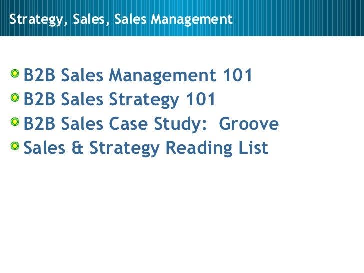 Sales, Sales Management, Sales Strategy Slide 2