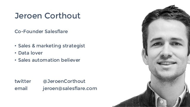 Sales automation - How to work less and sell more... and be more human while doing this. Slide 2