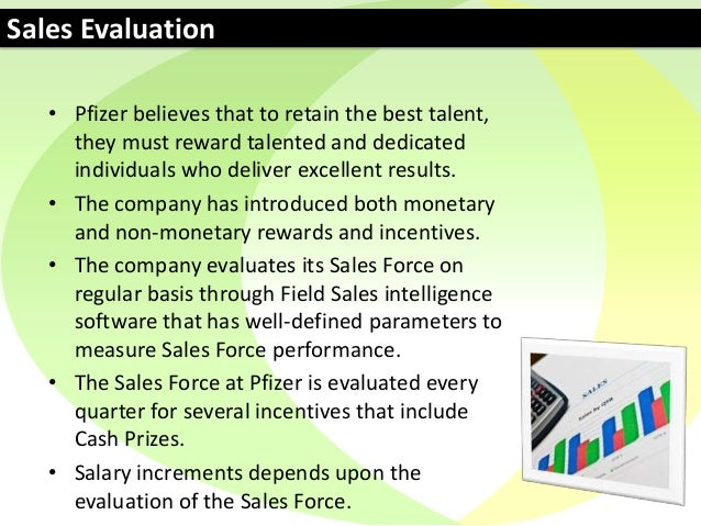 Sales Report - Pfizer Pakistan