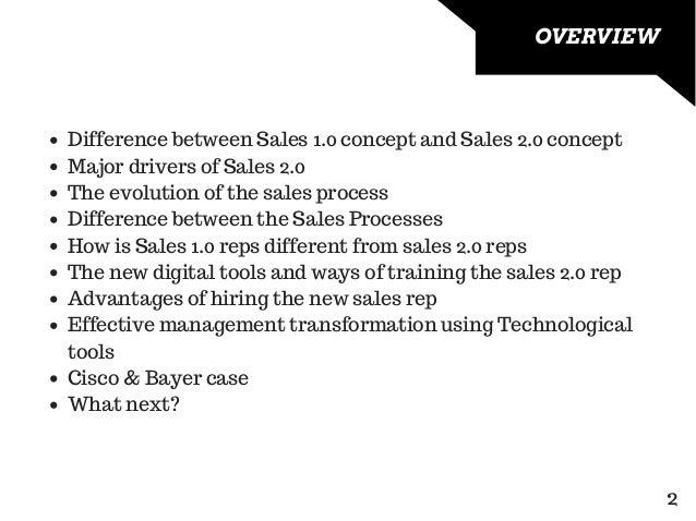 Sales 2.0 Slide 2
