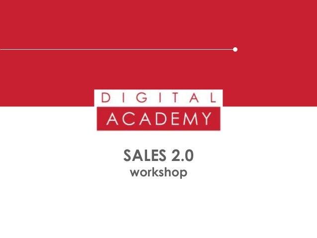 SALES 2.0 workshop