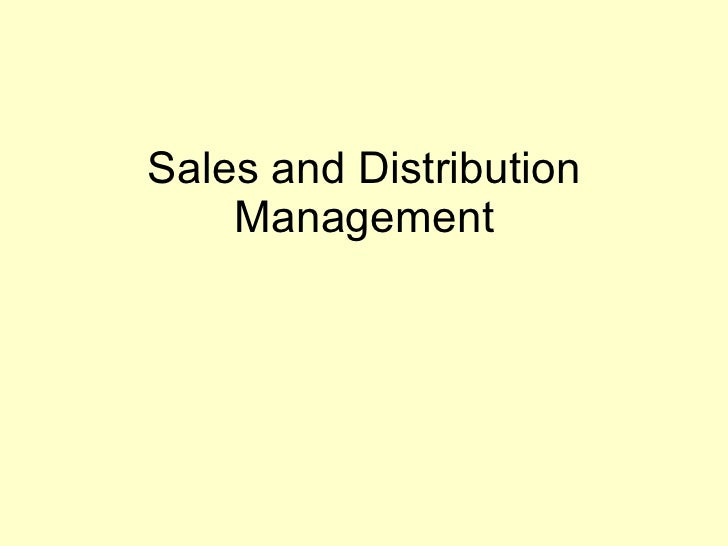 sales and distribution management sales forecasting Financial management sales and customer management  a cloud-based fuel distribution management software that boosts productivity and drives costs out of the .