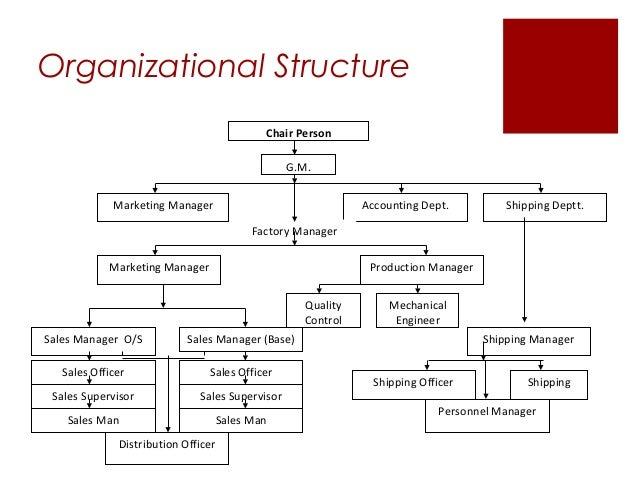 coca cola organizational structure 2017