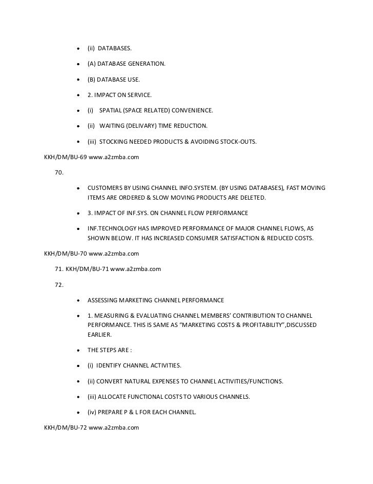 Sales and distribution management full notes 21 fandeluxe Choice Image