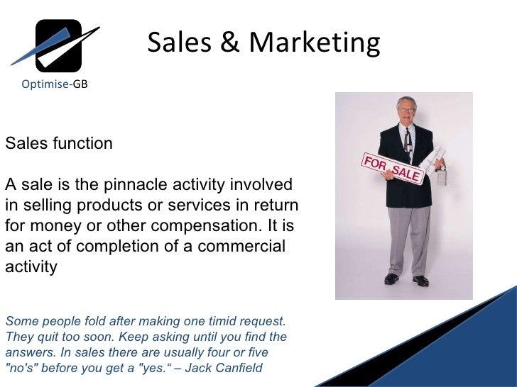 Sales and marketing Slide 2