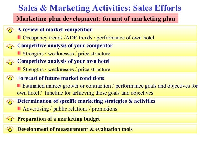 Sales Strategies for Hotels