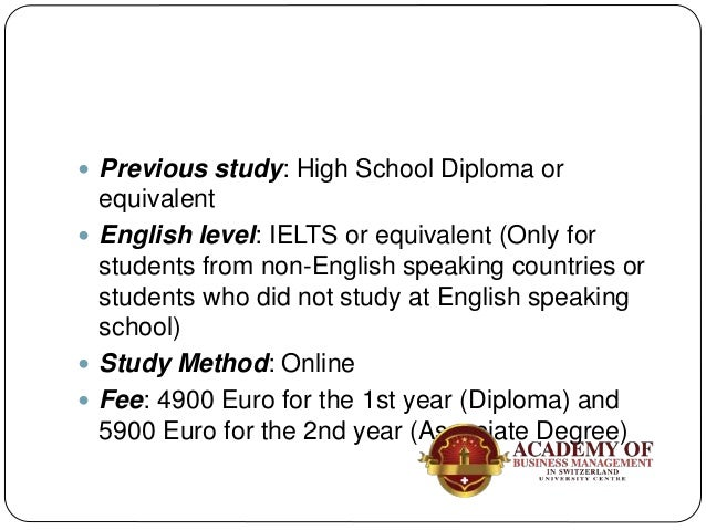  English level: IELTS or equivalent (Only for students from non-English speaking countries or students who did not study ...