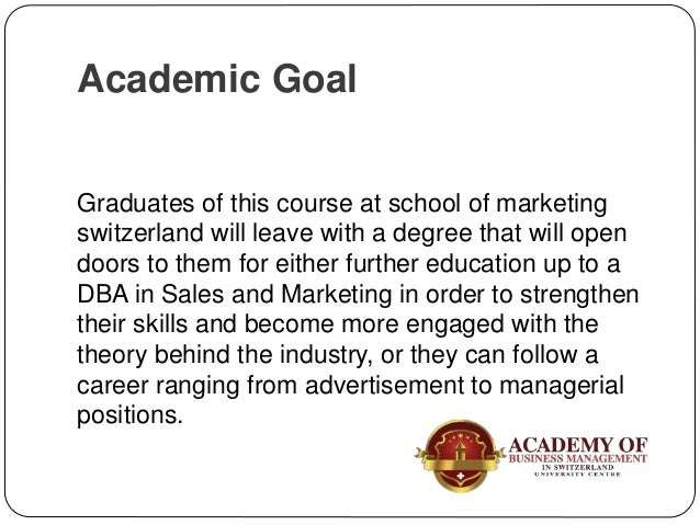 Graduates of this course will have an international knowledge of sales strategies and marketing as well as being confidenc...