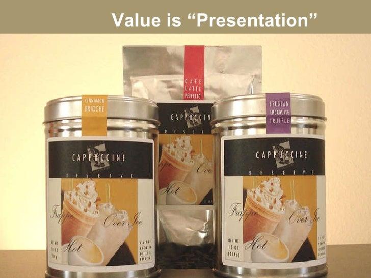"Value is ""Presentation"""