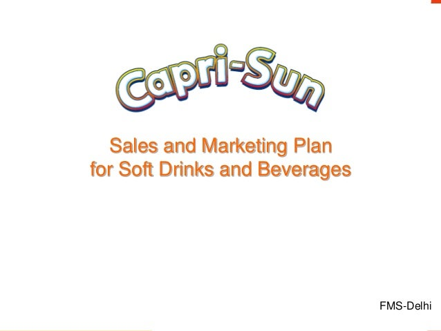 Developing Marketing Plan For Soft Drink