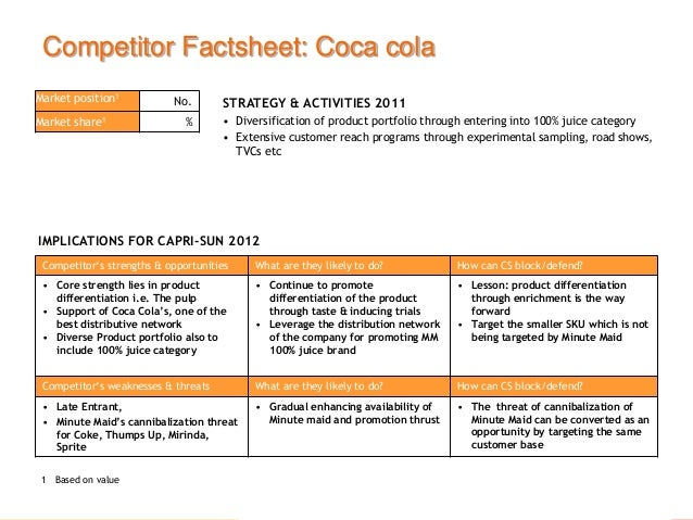 facilities and aggregate planning of cocacola Atlanta, feb 9, 2016 – the coca-cola company today announced that it is accelerating the pace and scale of its bottler refranchising efforts with plans to.