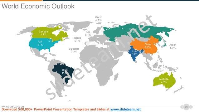WWW.COMPANY.COM 20 Canada 1.1% US 4.1% Brazil 11.1% Eurozone 3.3% UK 8.1% Ireland 5.1% India 4.5% China 8.2% Australia 3.4...