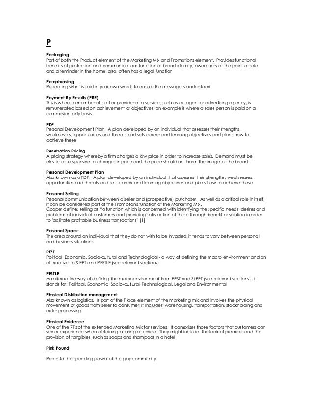 Salesandmarketingterminology 131214012038-phpapp02