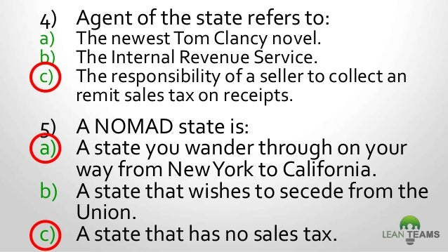 Washington State Sales and Use Tax