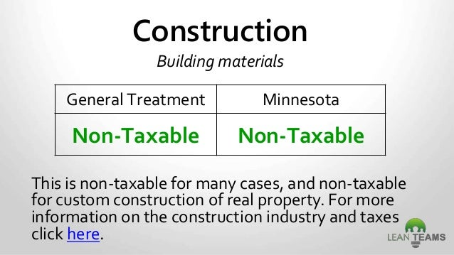 sales and use tax minnesota specific