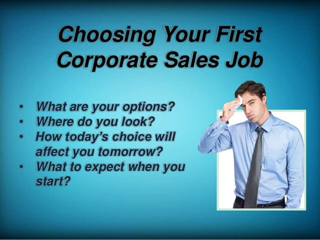 Sales as a Career Choice: The Good, The Bad, and The Ugly