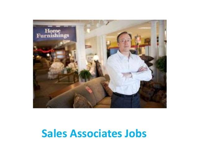 job description for a sales associate
