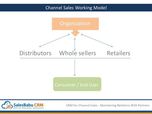 SalesBabu CRM for Channel Sales Maintaining Relations with Partners – What is Channel Sales