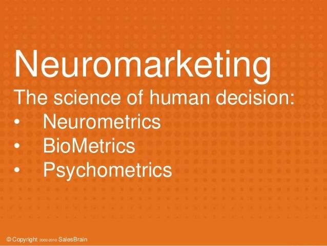 Neuromarketing - How to detect consumers G-spot (Kivilcim Kayabali, Salesbrain) Slide 2