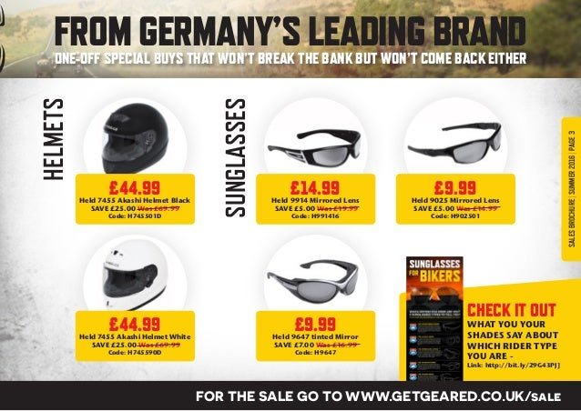 Getgeared Summer Sales Brochure 2016