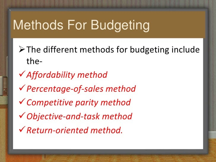 budget and budgetary control for improved Effective budget preparation  budgetary control guidelines  improve reliability of financial reporting, and.