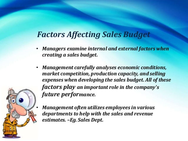 why is the sales forecast the starting point for budgeting This post is dedicated to understand budgeting & forecasting, types of  so sales  budget must be prepare first then all other budget should be linked to it  a new  start-up company usually prepares this kind of budget to keep track on their   the following point's distinction can be noted between forecasting vs budgeting: .