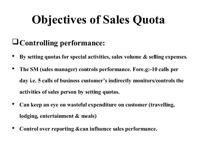 Sales budget, quotas and sales territories