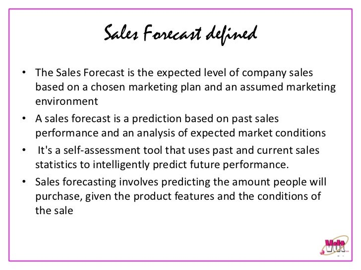 sale forecast