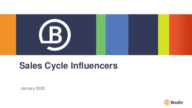 January 2020 Sales Cycle Influencers