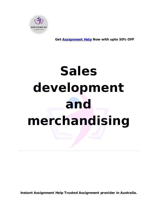 Sales development and merchandising
