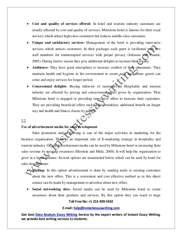 sample report on s development and merchandising by instant essay   8