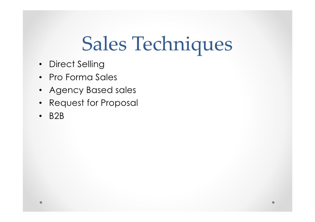DIRECT SELLING TECHNIQUES PDF DOWNLOAD