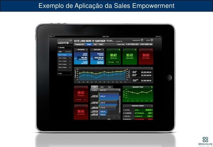Exemplo de Aplicação da Sales Empowerment<br />