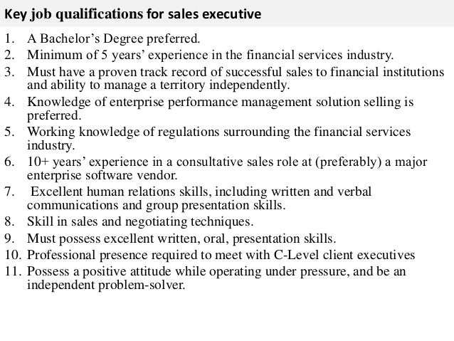Forex sales executive