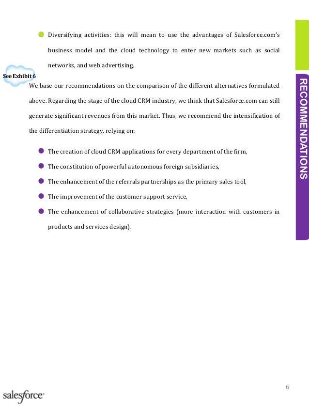 Salesforce.com strategic analysis