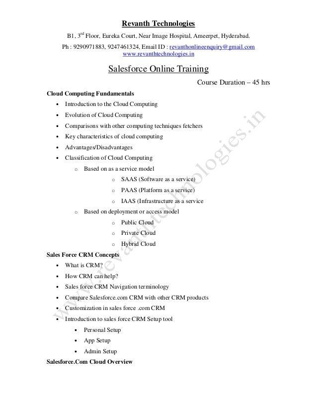 Revanth Technologies B1, 3rd Floor, Eureka Court, Near Image Hospital, Ameerpet, Hyderabad. Ph : 9290971883, 9247461324, E...