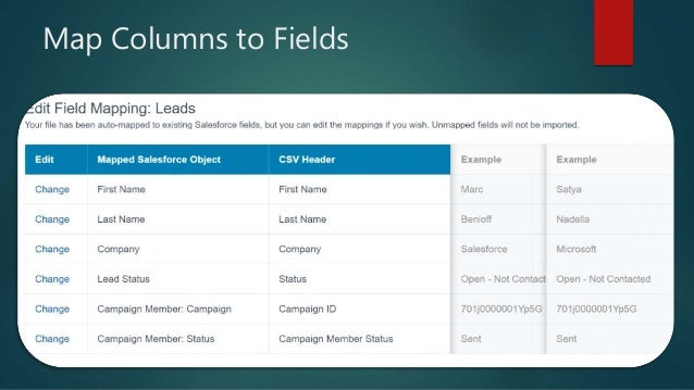 Salesforce - How to Load Leads and Add to Campaigns with