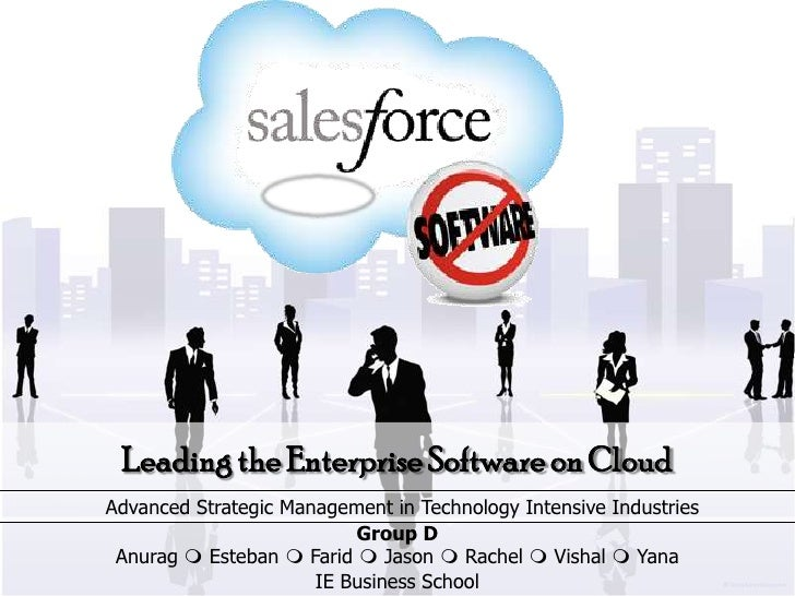 Leading the Enterprise Software on CloudAdvanced Strategic Management in Technology Intensive Industries                  ...