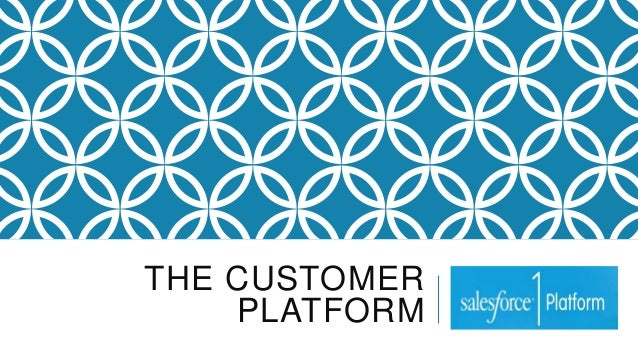 THE CUSTOMER PLATFORM