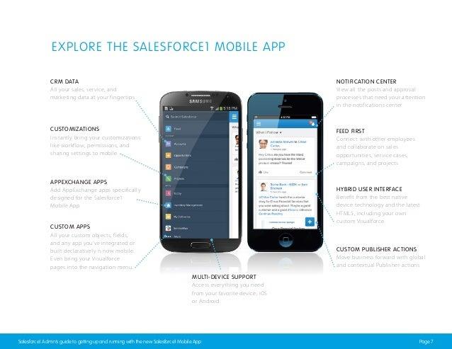 salesforce1 app getting started guide rh slideshare net Salesforce Mobile App Logo Salesforce Mobile App
