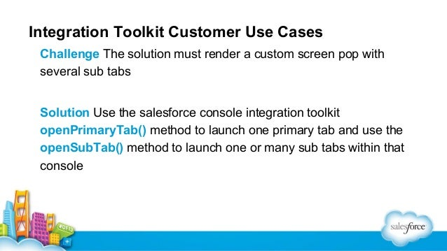 Salesforce api salesforce console deep dive for Consul use cases